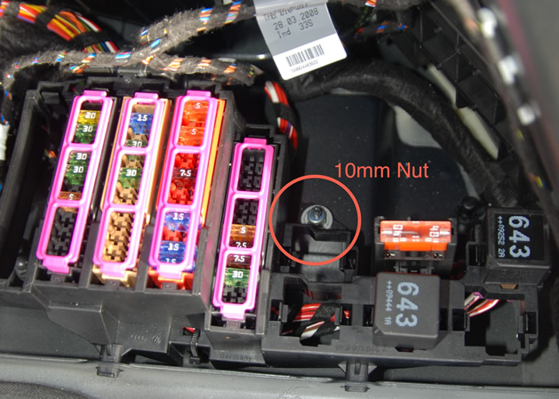 Audi A5 Fuse Box